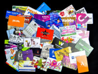plastic printed magnetic strip cards