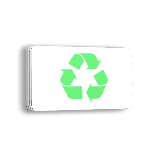 Eco friendly plastic cards