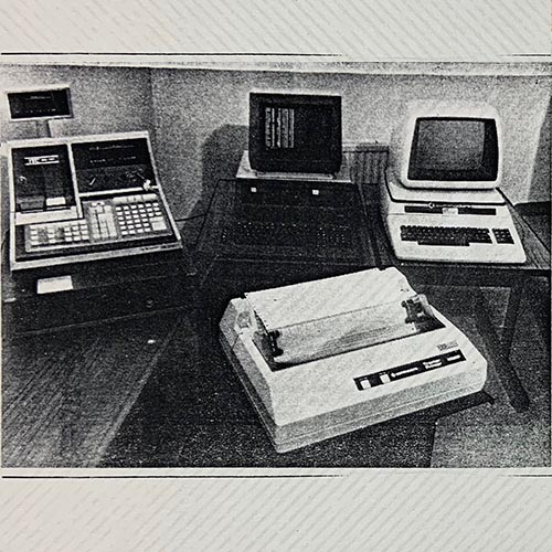 Retail computer systems in the 80s