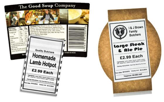 Food/Deli labels