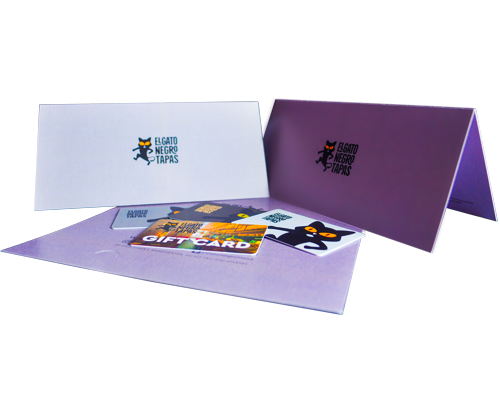 printed presentation products