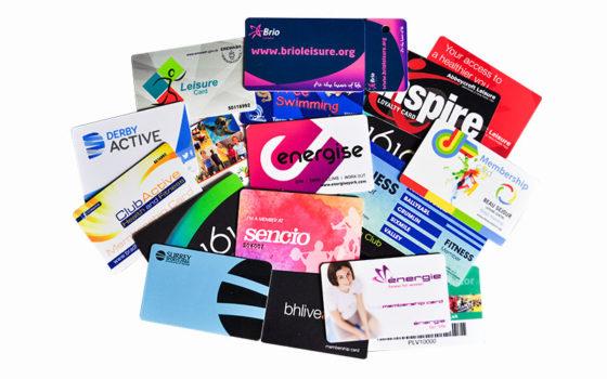 colour printed plastic cards